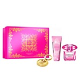 Cofre Bright Crysral EDP 90 ml + body lotion 100 ml + llavero