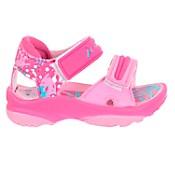 Sandalia rosa con abrojo