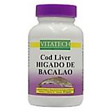 Cod liver higado de bacalao x 60 caps