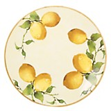 Fuente redonda limones 31 cm