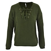 Sweater lace up