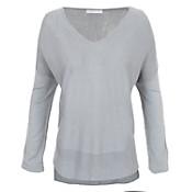 Sweater escote en v