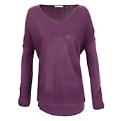 Sweater escote en v