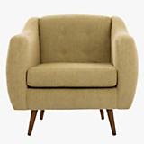 Sofa 1 cuerpo California Chenille marfil