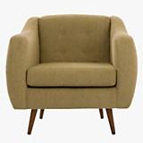 Sofa 1 cuerpo California Chenille lino