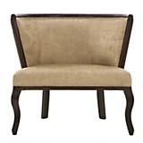 Sofa 1 cuerpo Leville Chenille lino