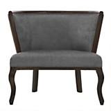 Sofa 1 cuerpo Leville Chenille graphite
