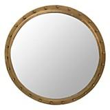Espejo bronce tachas 50 cm