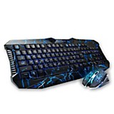 Teclado Multimedia + Mouse Gamer NKB-5320