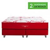 Colchón somnus rouge king + 2 almohadas