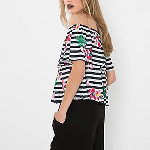 Blusa shoulderless
