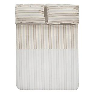 Juegos de sábanas estampadas 2 1/2 plazas