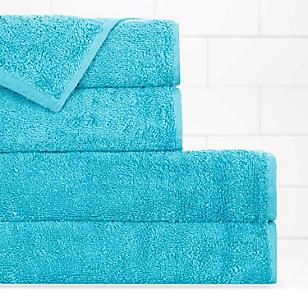 Juego de toallas peinado liso