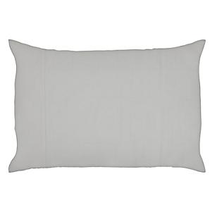 Funda de almohada blanco 50 x 70 cm