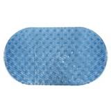 Piso de baño PVC dots azul