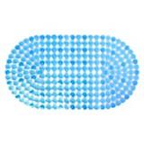 Piso de baño gotas azul