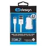 Cargador Autom�vil + Cable Micro USB