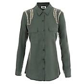 Camisa con detalle army
