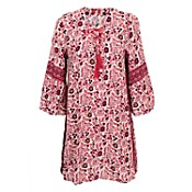 Vestido cherry print