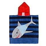 Toalla con poncho tiburon