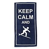 Toallón keep calm