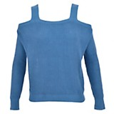 Sweater off shoulders