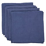 Set de 4 Servilletas navy 45 x 45 cm