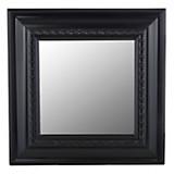 Espejo cuadrado negro 48 x 48 cm