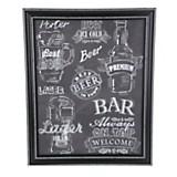 Cuadro beer 40 x 50 cm