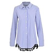 Camisa con borlas