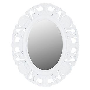 Espejo oval labrado 43 x 53 cm