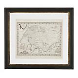 Cuadro mapa 56 x 50 cm