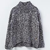 Sweater con cuello alto