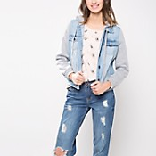Campera denim