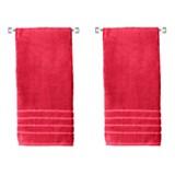 Set x 2 Toalla de cuerpo roja