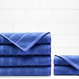 Set x 2 juego de toallas azul