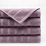 Set x 2 juego de toallas malva