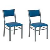 Juego de sillas carmela x 2