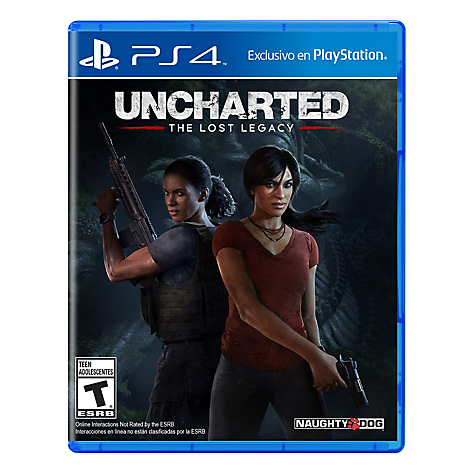 Videojuego Uncharted Lost Legacy