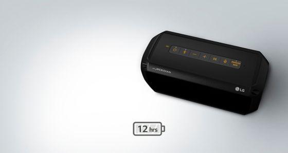 La bateria del parlante dura toda la fista