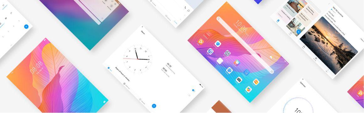 Huawei T10s división pantalla