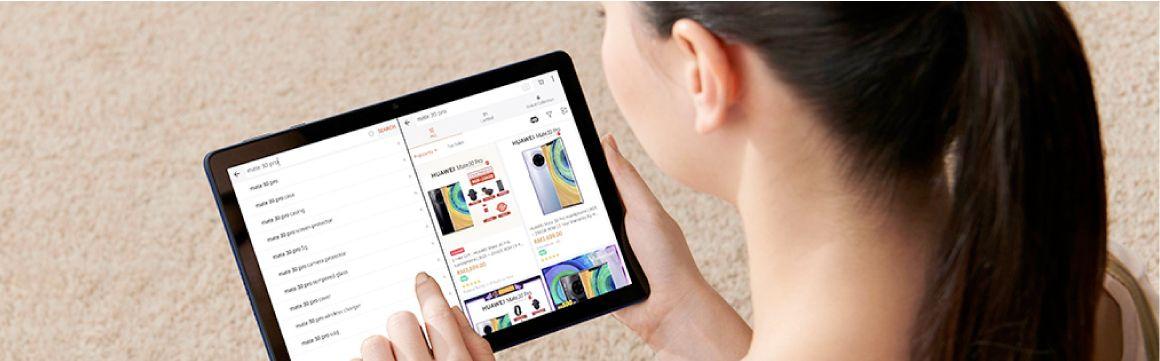 Huawei tablet T0s incluye función de descanso visual
