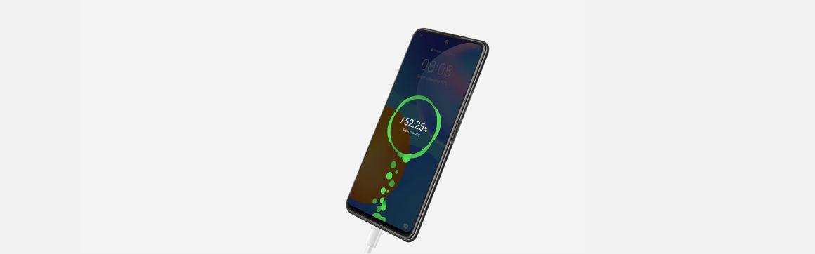 Huawei Y7a con tecnología de carga rapida