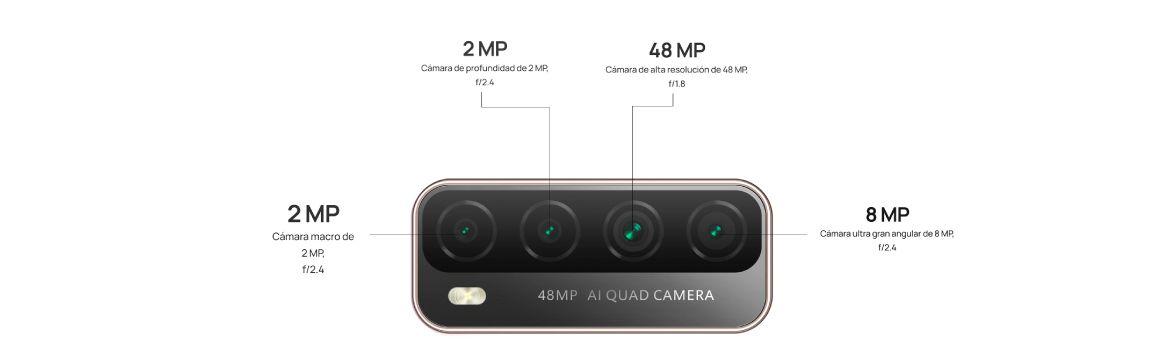 Huawei Y7a con cuatro cámaras con Inteligencia Artificial
