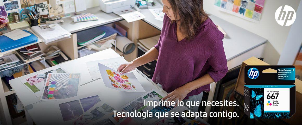 Imprime lo que necesites. Tecnología que se adapta contigo.
