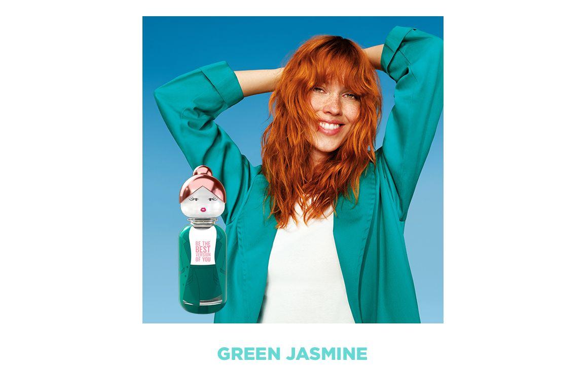 Sisterland, Benetton, Green Jasmine, fresco, mujer, colonia, perfume, amistad, diferentes, amigas, friends, nueva colección, woman, women, femenino, fragancia