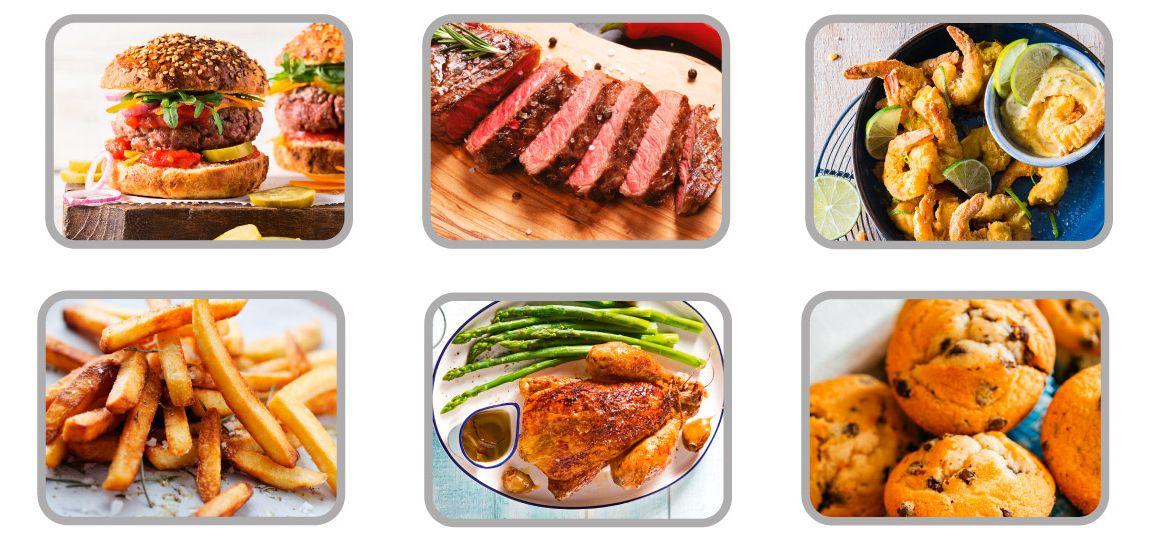 prepara tus platos favoritos con poco o nada de aceite