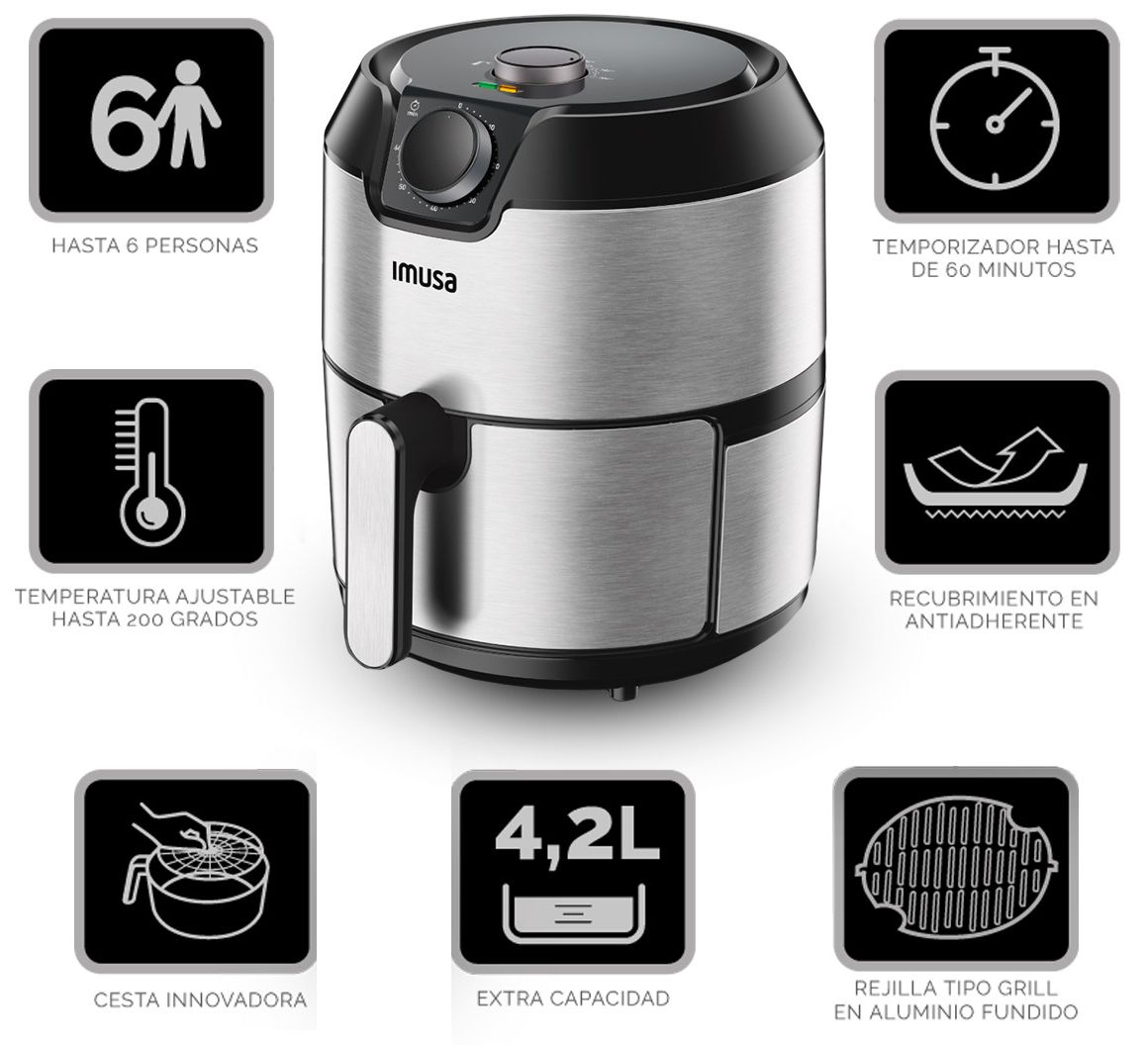 con la easy fry & grill tienes todo para tu cocina