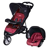 Travel System Jogger Fox Rojo