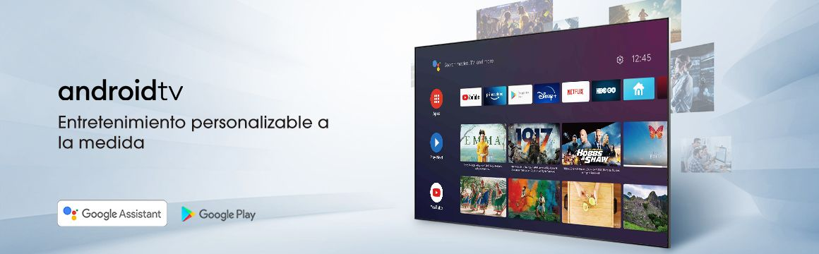 Dispositivo con sistema android TV Hisense 4K